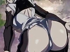Lesbian busty samurais in horny adventure