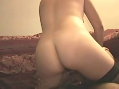 Black guy cums in this wife (cuckold)