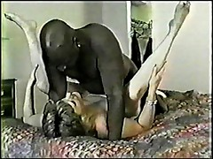 Chubby wife take black man for a test drive at local motel