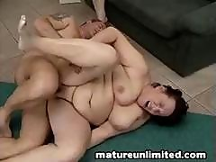 Two Fat Moms Bellys And Dick Cock