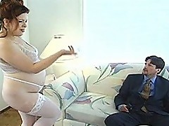 Pregnant Hooker Swallows A Creamy Load