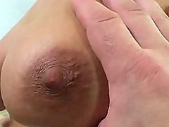 Skinny amateur blonde fucked in all holes