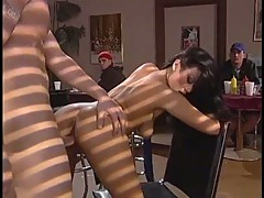 Avena Lee wet pussy railed with thick hard cock