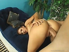 Karina Kay loves getting her moist pussy hammered