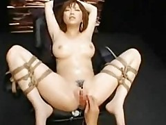 Rio Hamasaki Asian Model Is Tied And Her...