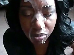 Nut All Over Her Face
