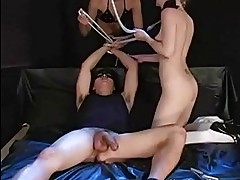 Kinky hardcore sex orgy and domination of blonde