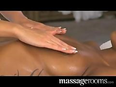 Massage Rooms Lesbian gspot tantric orgasm for black girl