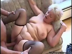 Sexy Mom N88 Blonde Bbw Granny With A Young Man mature mature porn granny old cumshots cumshot
