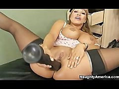 Ava Devine Fucks Herself - Naughty America LVNM 12