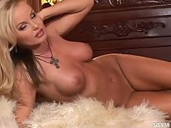 Silvia Saint Getting Busy All Alone In Sexy Lingerie